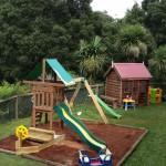 Playground area for children